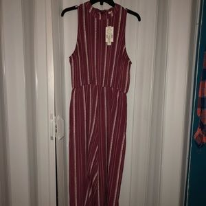 Brand new Speechless Jumpsuit color Wine